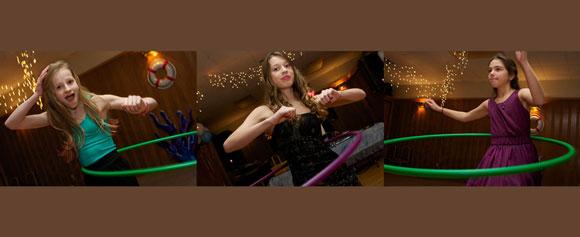 bat mitzvah hoola hoop contest